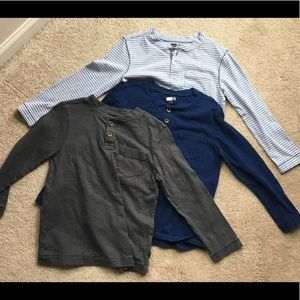 Lot of 3 Crazy8 shirts, all size 5-6